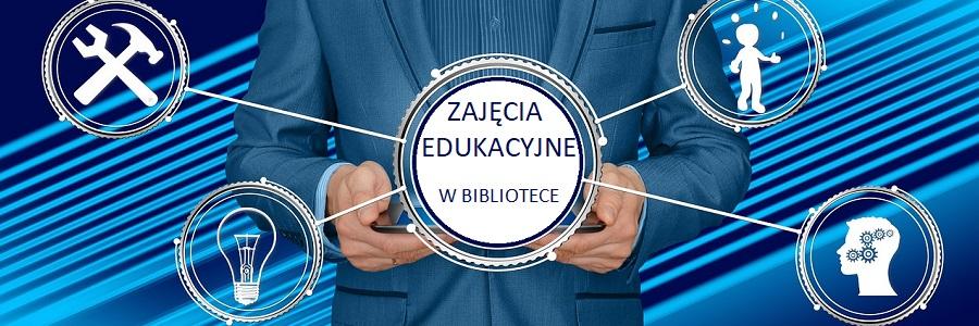 """Uczniowie zZespołu Szkół <span class=""""caps"""">CKR</span> wbibliotece"""
