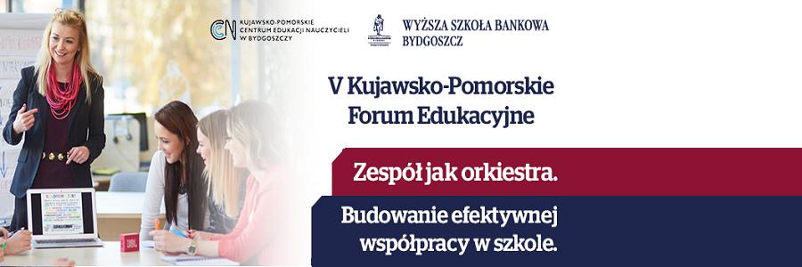 Zaproszenie na forum edukacyjne