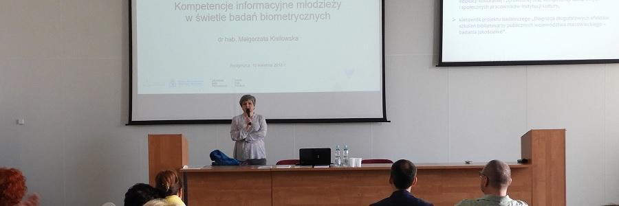 """Konferencja """"Biblioteka – Cyberprzestrzeń – Komunikacja"""""""