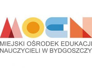 Logo MOEN - Miejskiego Ośrodka Edukacji Nauczycieli w Bydgoszczy