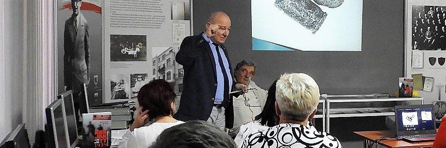 Spotkanie autorskie zMarkiem Pasturczakiem iJerzym Lelwicem