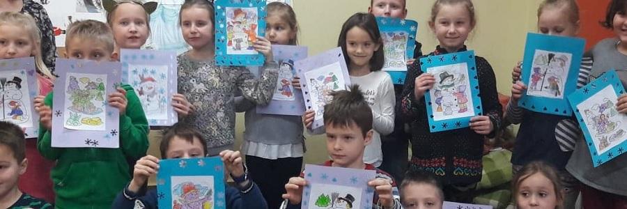 Zimowe opowieści wDziecięcej Akademii Czytania Bajek