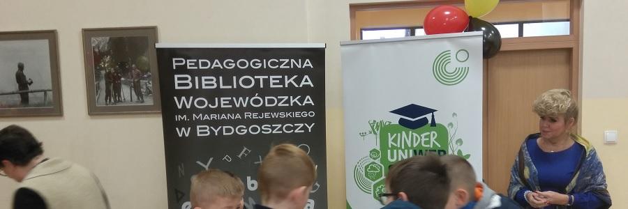 Nowości Medioteki na spotkaniu promocyjnym KinderUni