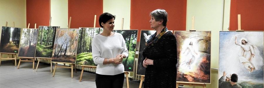 Wernisaż malarstwa Marii Podgórskiej-Ritter