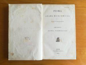 Pisma pośmiertne Mickiewicza