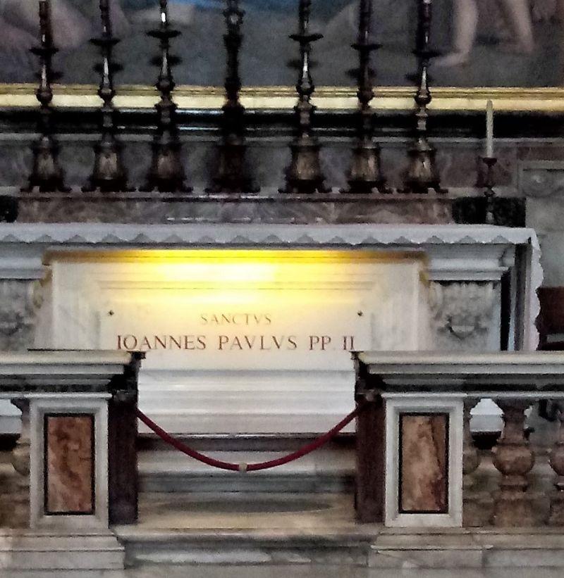 Grobowiec Jana Pawła II