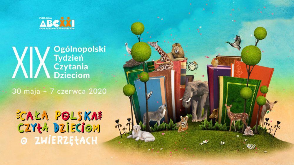 Cała Polska czyta dzieciom o zwierzętach