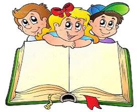Dzieci i książka - rysunek