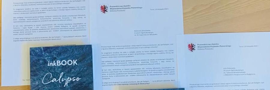 Gratulacje od Przewodniczącej Sejmiku Województwa Kujawsko-Pomorskiego