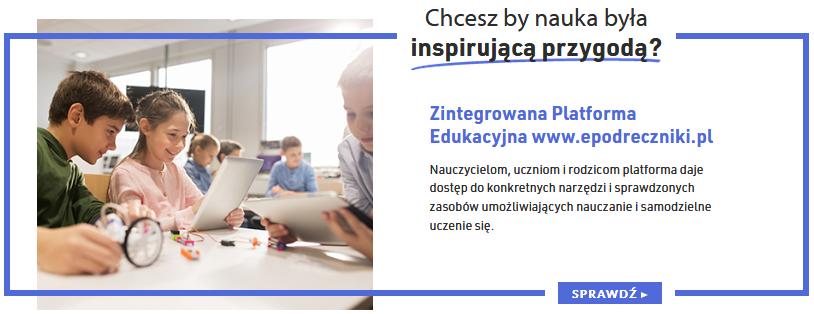 Zintegrowana Platforma Edukacyjna e-podreczniki.pl