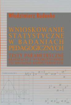 """Okładka książki """"Wnioskowanie statystyczne w badaniach pedagogicznych"""""""