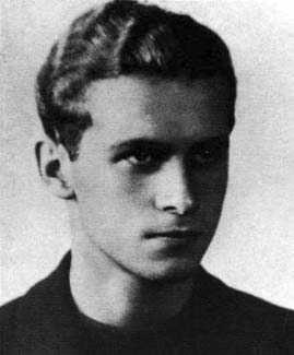 Krzysztof Kamil Baczyński -maturzysta