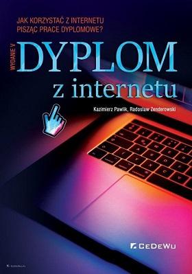 """Okładka książki """"Dyplom z Internetu"""""""