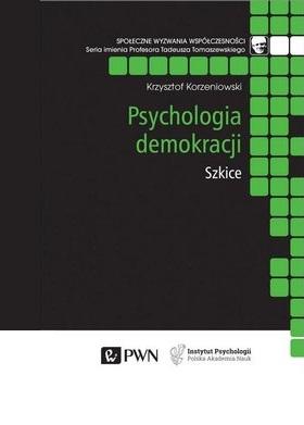 """Okładka książki """"Psychologia demokracji"""""""