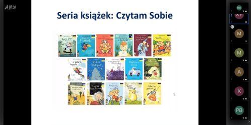 """16 okładek serii książek """"Czytam Sobie"""""""