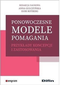 """Okładka książki """"Ponowoczesne modele pomagania"""""""