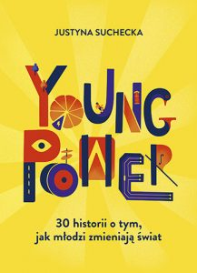"""Kładka książki """"Young power""""."""