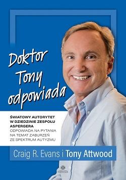 """Okładka książki """"Doktor Tony odpowiada"""""""