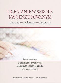 """Okładka książki """"Ocenianie w szkole na cenzurowanym"""""""