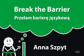 """Okładka książki """"Break the Barrier"""""""