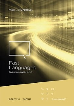 "Okładka książki ""Fast languages"""