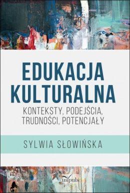 "Okładka książki pt. ""Edukacja kulturalna""."