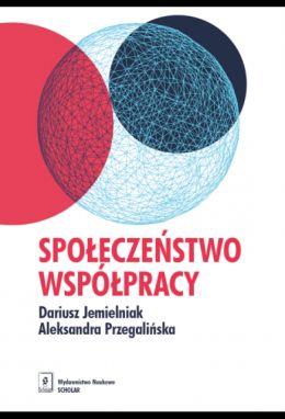 """Okładka książki pt. """"Społeczeństwo współpracy """"."""